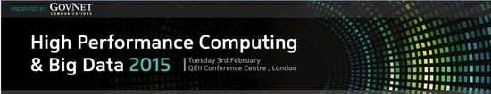 High Performance Computing & Big Data 2015 Conference - London