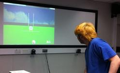 Virtual Environment for Rugby Skills Training